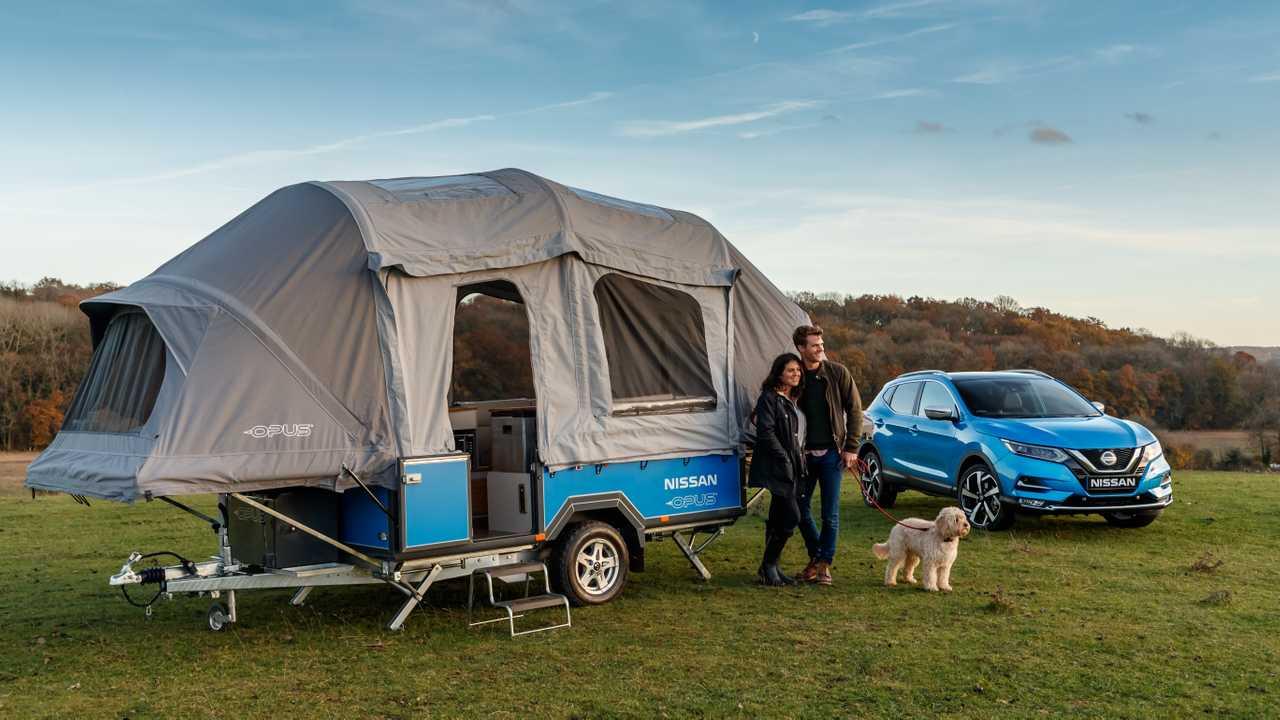 Nissan Opus Camper-Konzept