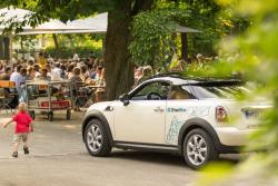 Biergarten und Carsharing