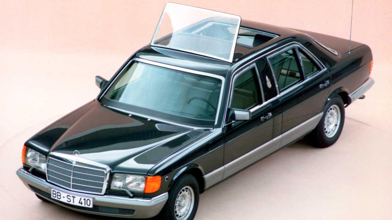 Mercedes 500 SE Vatikan