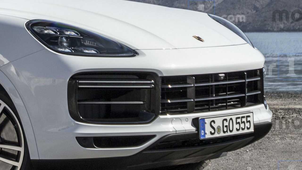 Porsche Cayenne Coupé, es rendert