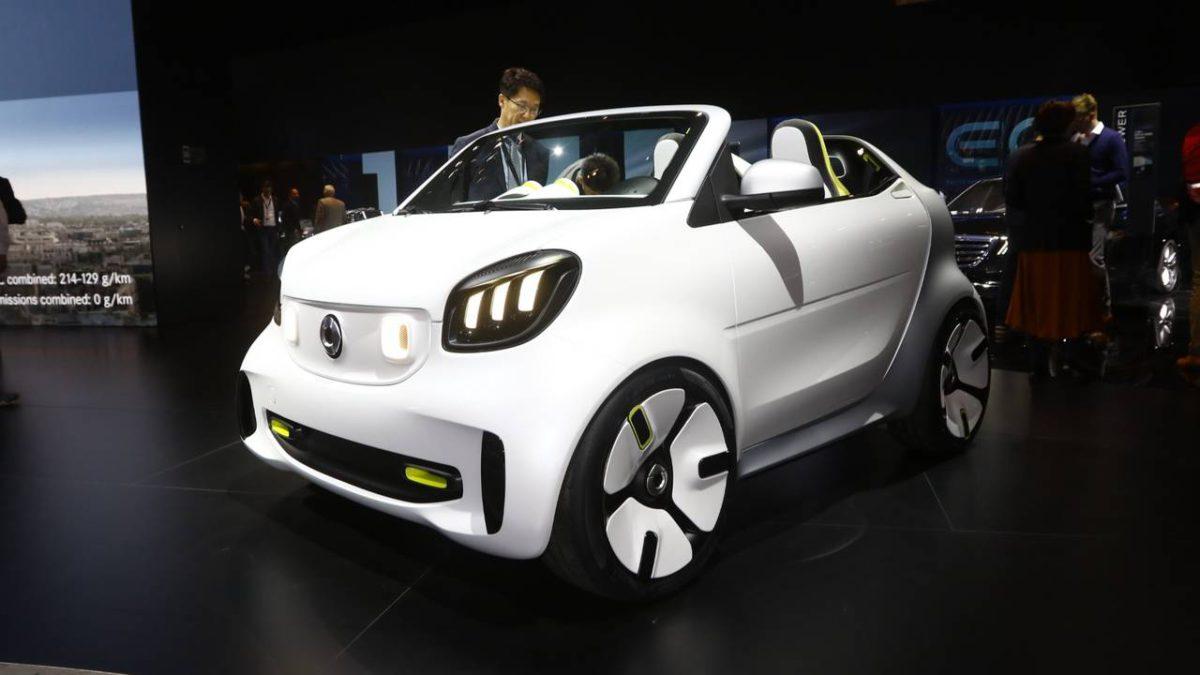 Smart Forease+: Открытый городской автомобиль будущего