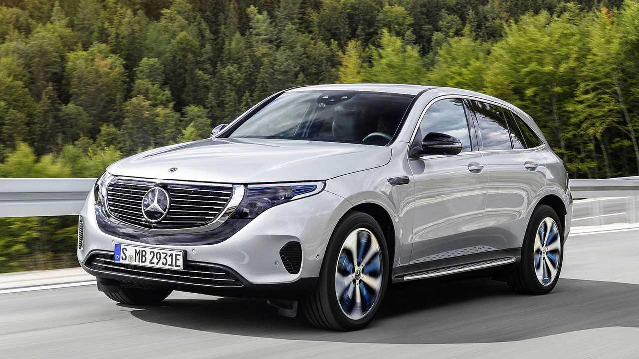 Mercedes EQC, Marktstart: Mitte 2019
