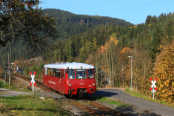 Triebwagen der Baureihe VT 772