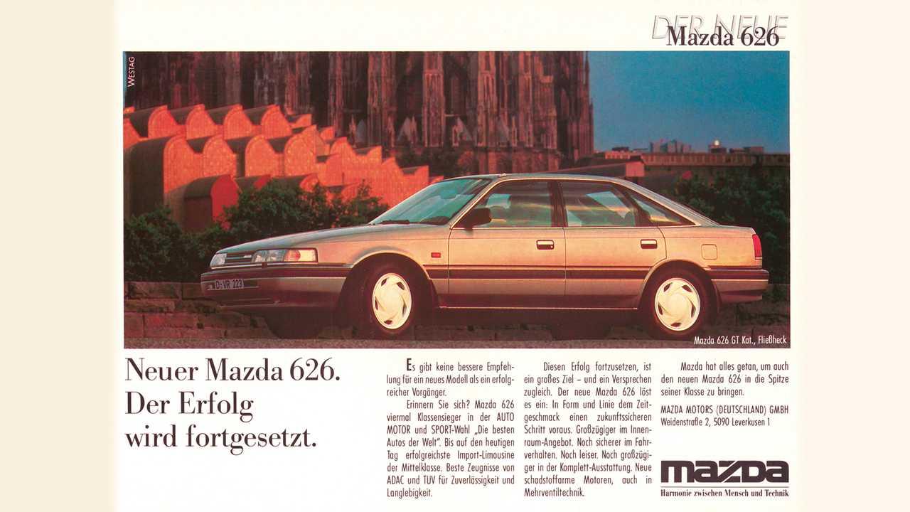 40 Jahre Mazda 626
