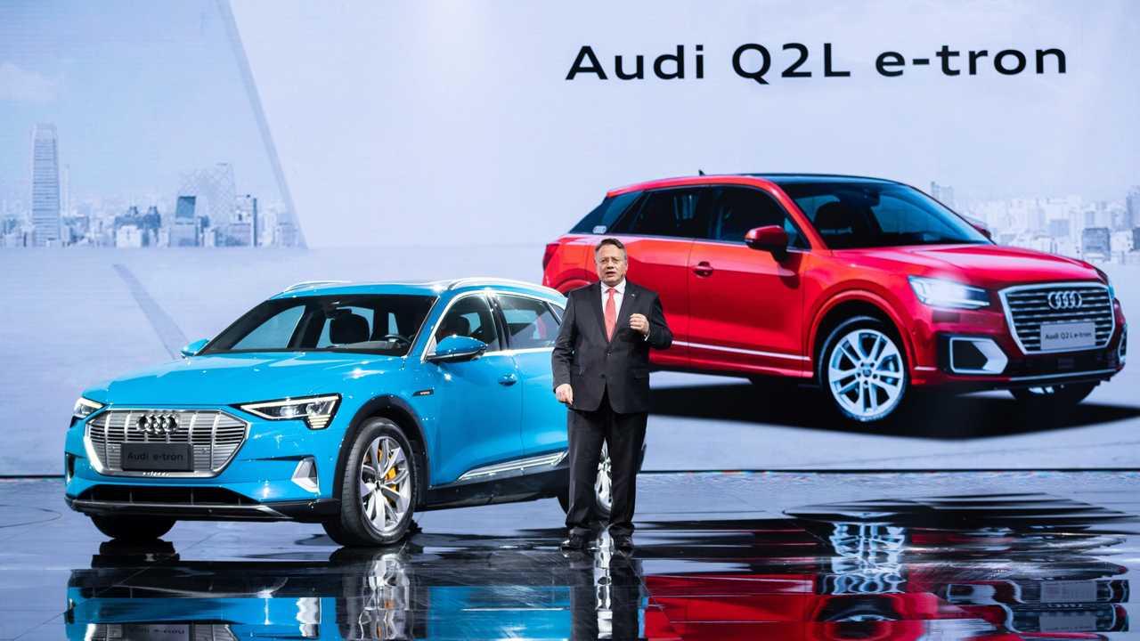 Audi Q2 L e-tron für China