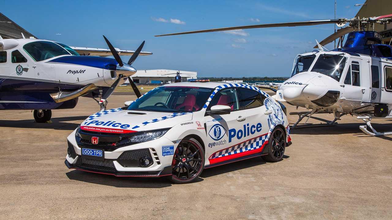 Honda Civic Type R Polizei von New South Wales