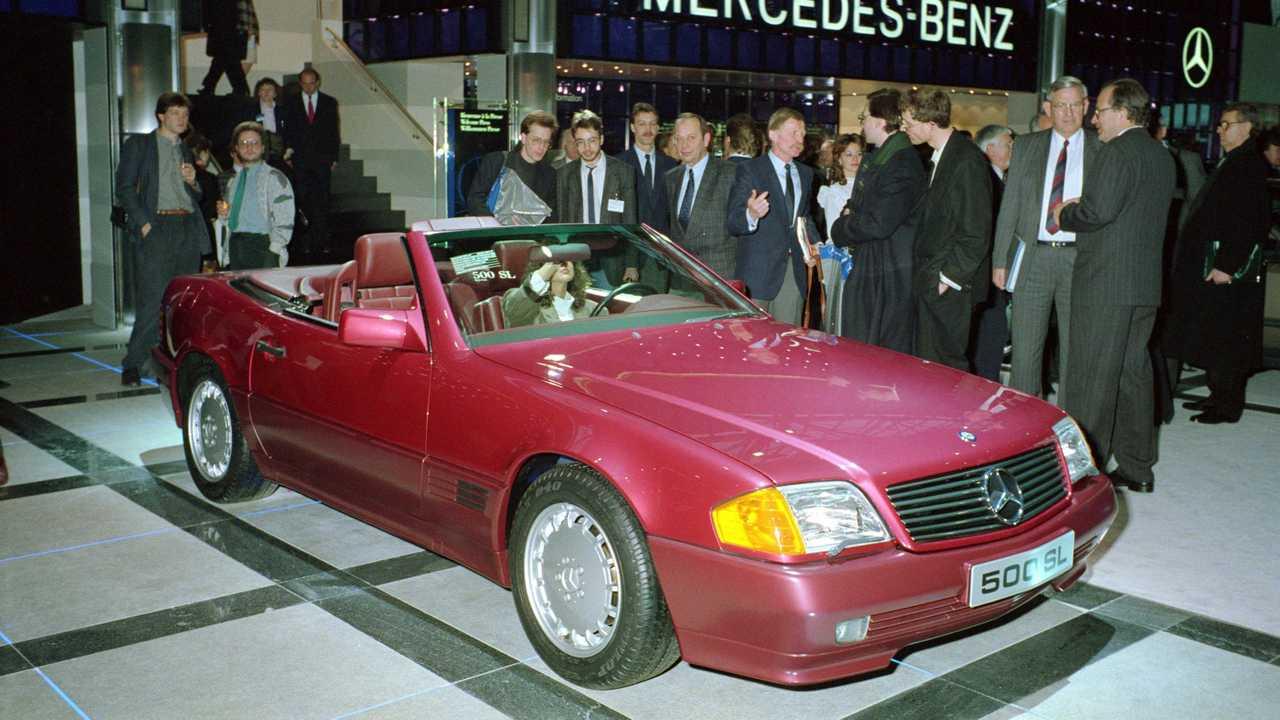 Mercedes SL (R 129) Genf 1989