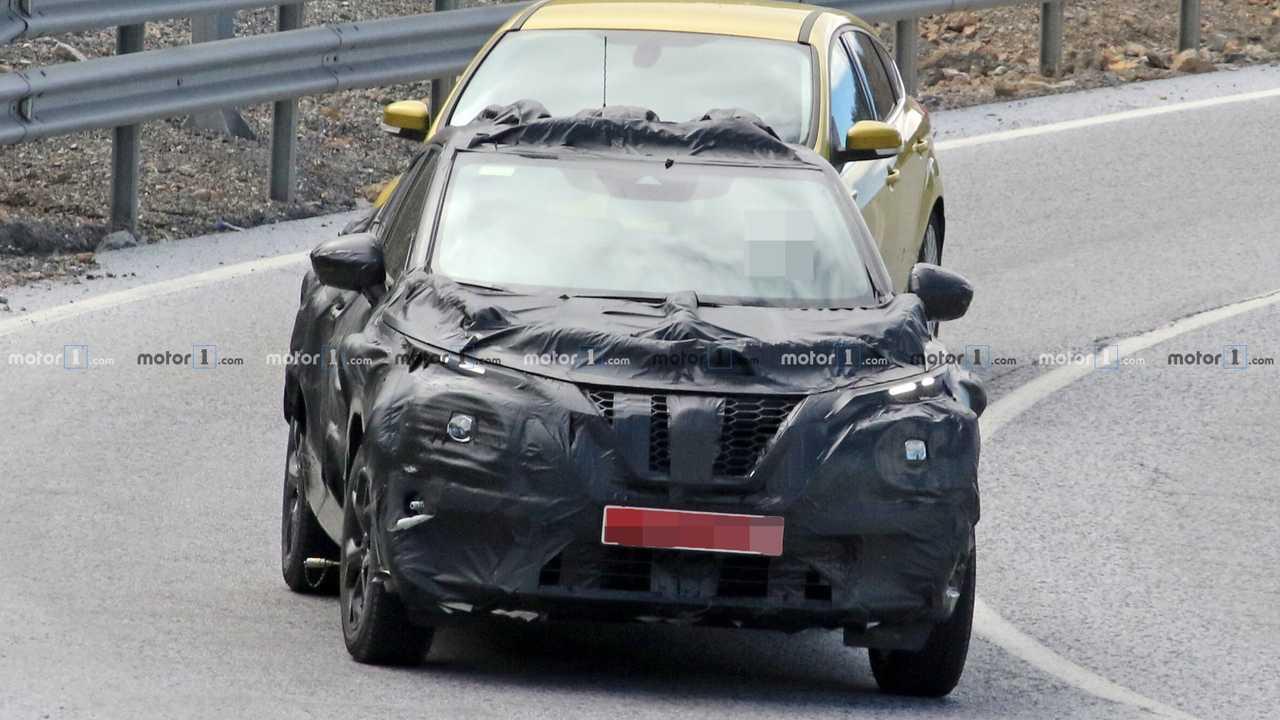 Nissan Juke 2019 Erlkönig