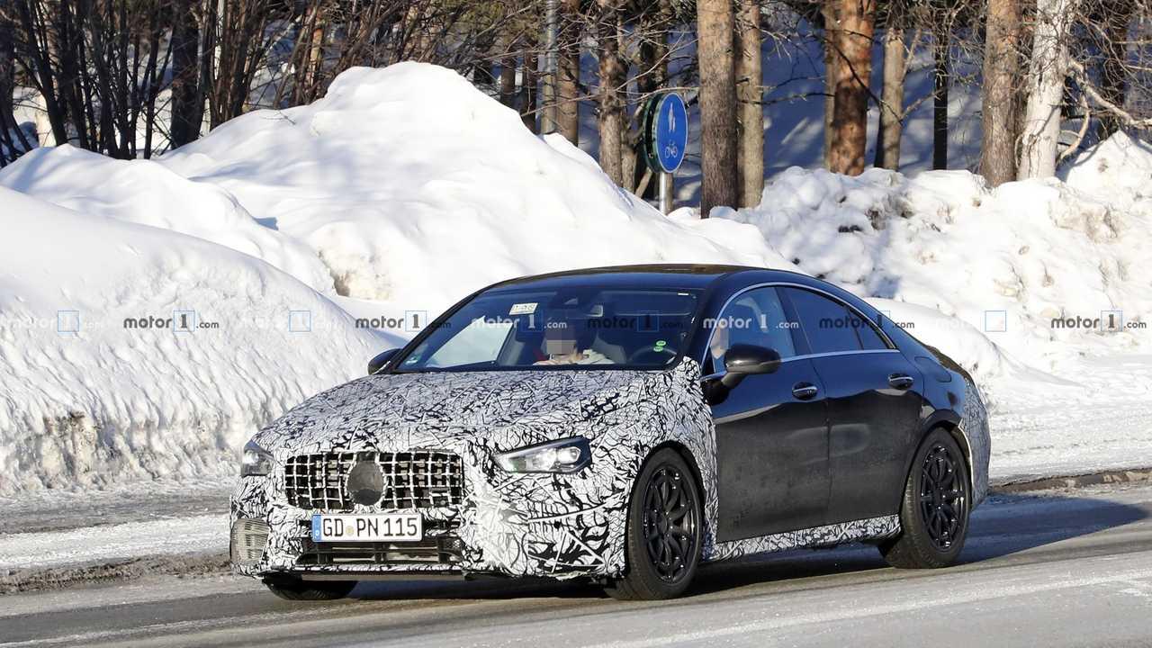 Mercedes-AMG CLA 45 2020 Erlkönig