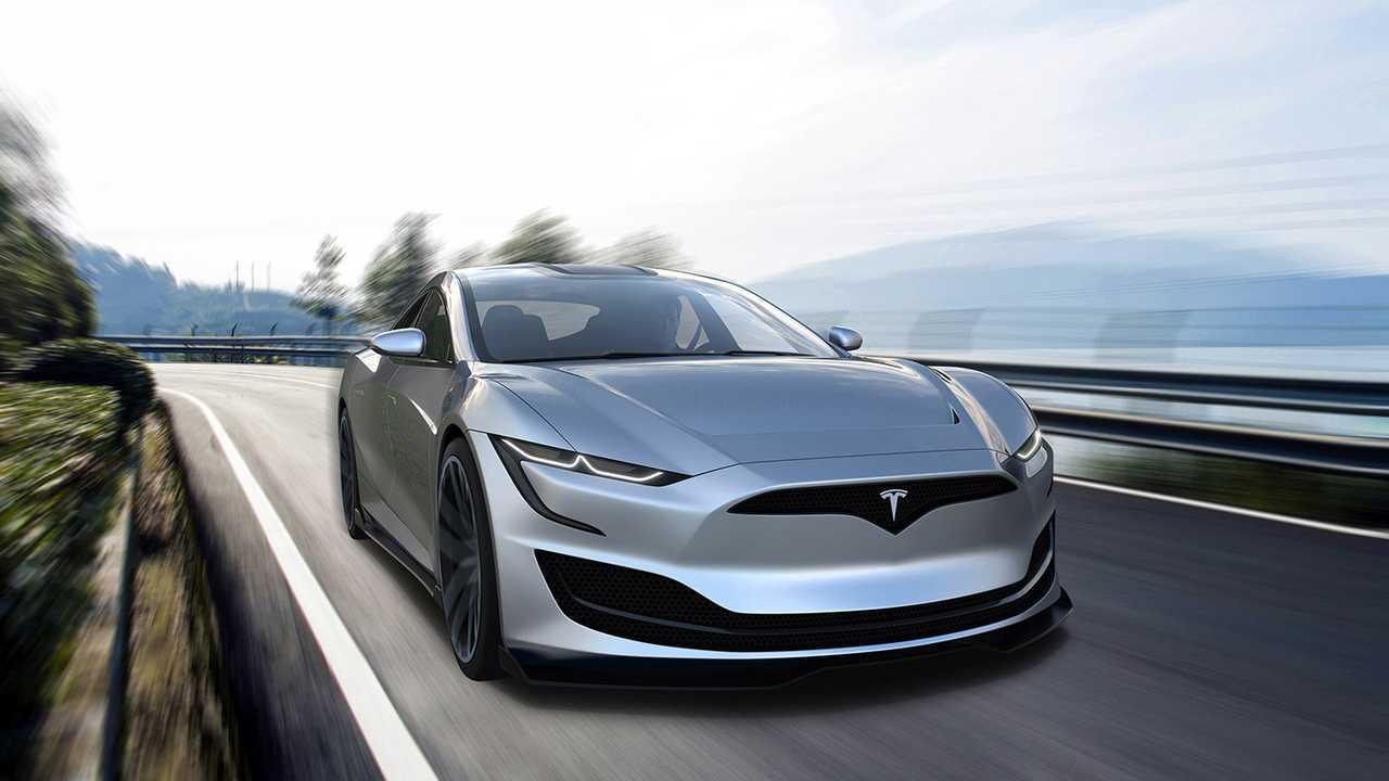 Tesla Model S (2020) Rendering