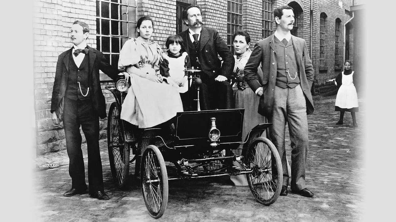 1894 Benz Motor-Velociped