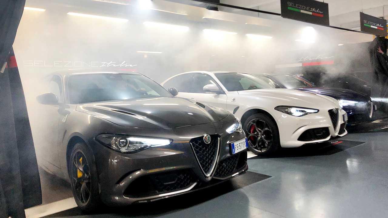 Der Alfa Giulia Quadrifoglio ist der leistungsstärkste Mietwagen in Italien