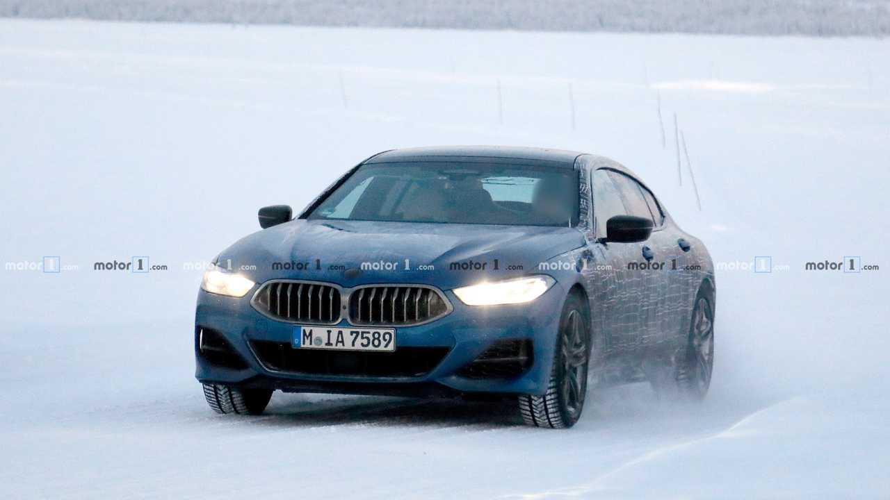 BMW 8er Serie Gran Coupe Spion Foto