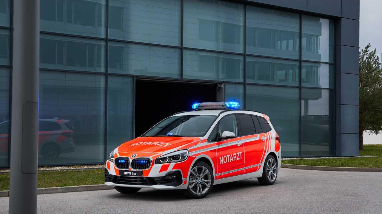 BMW 220d xDrive Gran Tourer für den Notarzt