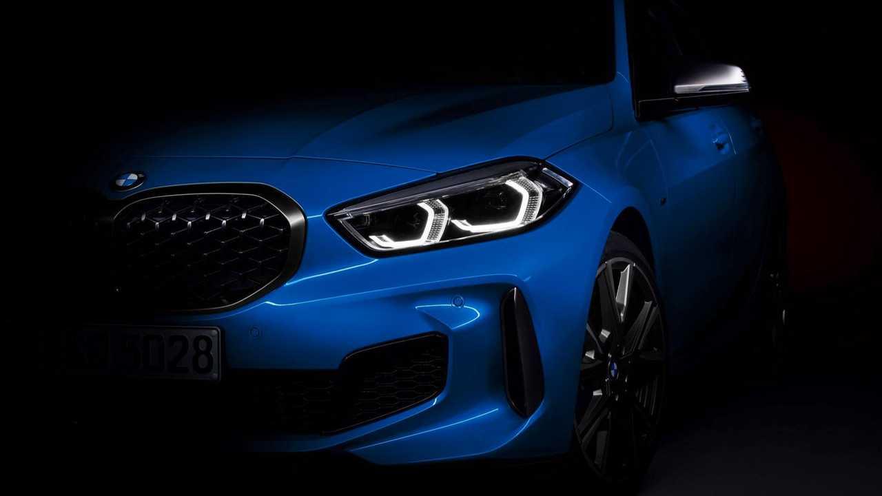 BMW 1er (2019) Teaser