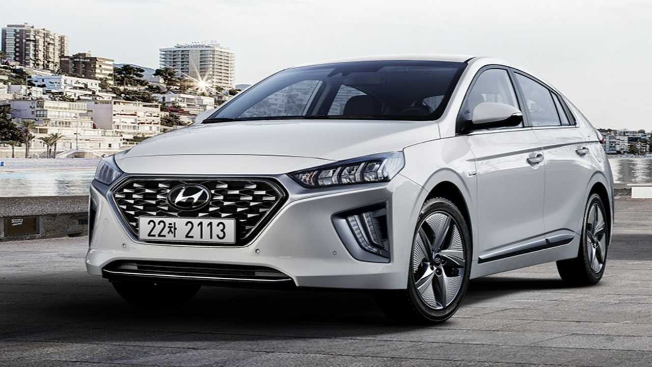 Hyundai Ioniq Hybrid und Plug-in-Hybrid überarbeitet