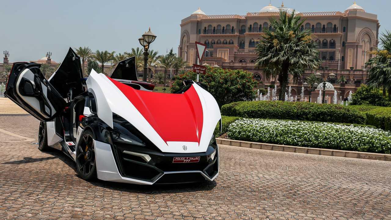 Lykan HyperSport für die Polizei von Abu Dhabi