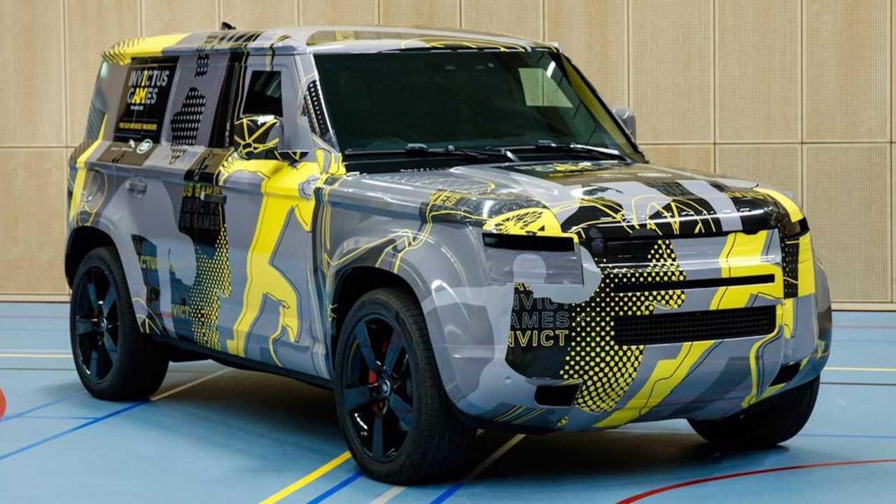 Land Rover Defender für die fünften Invictus-Spiele