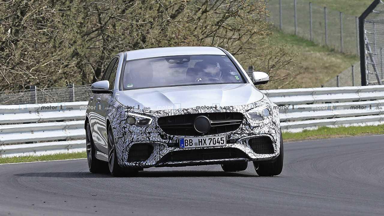 2021 Mercedes-AMG E63 Spionagefoto