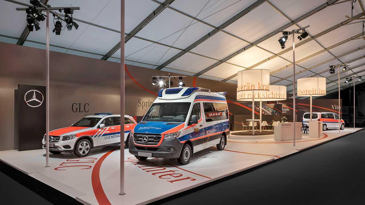 Mercedes-Benz auf der RETTmobil 2019