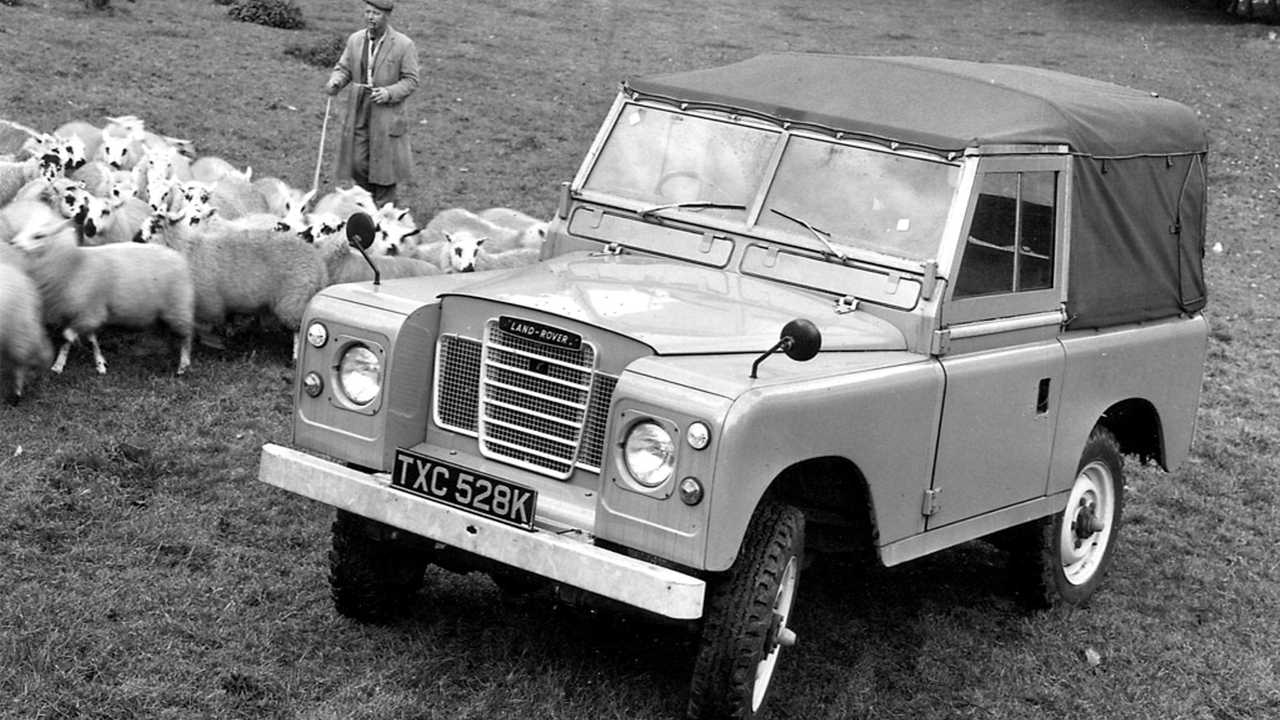 Land Rover Series III SWB soft top