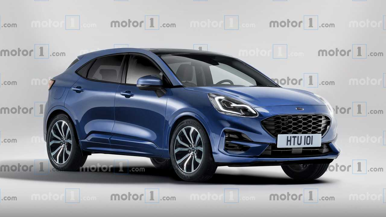 Ford Puma (2019): Unser Rendering gibt einen Ausblick auf das Fiesta-SUV
