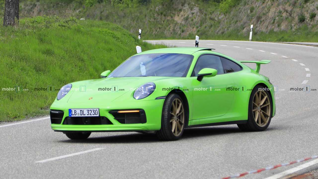 Geheimnisvoller Porsche 911 Prototyp