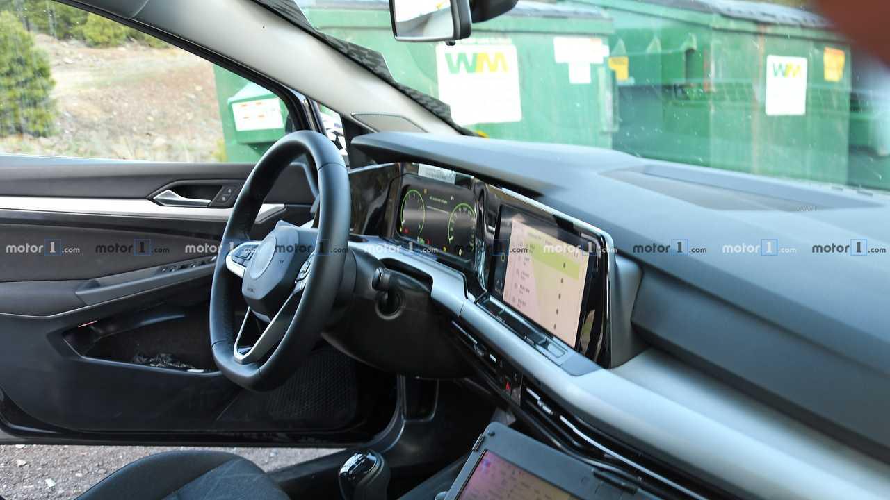2019 VW Golf 8 Erlkönig