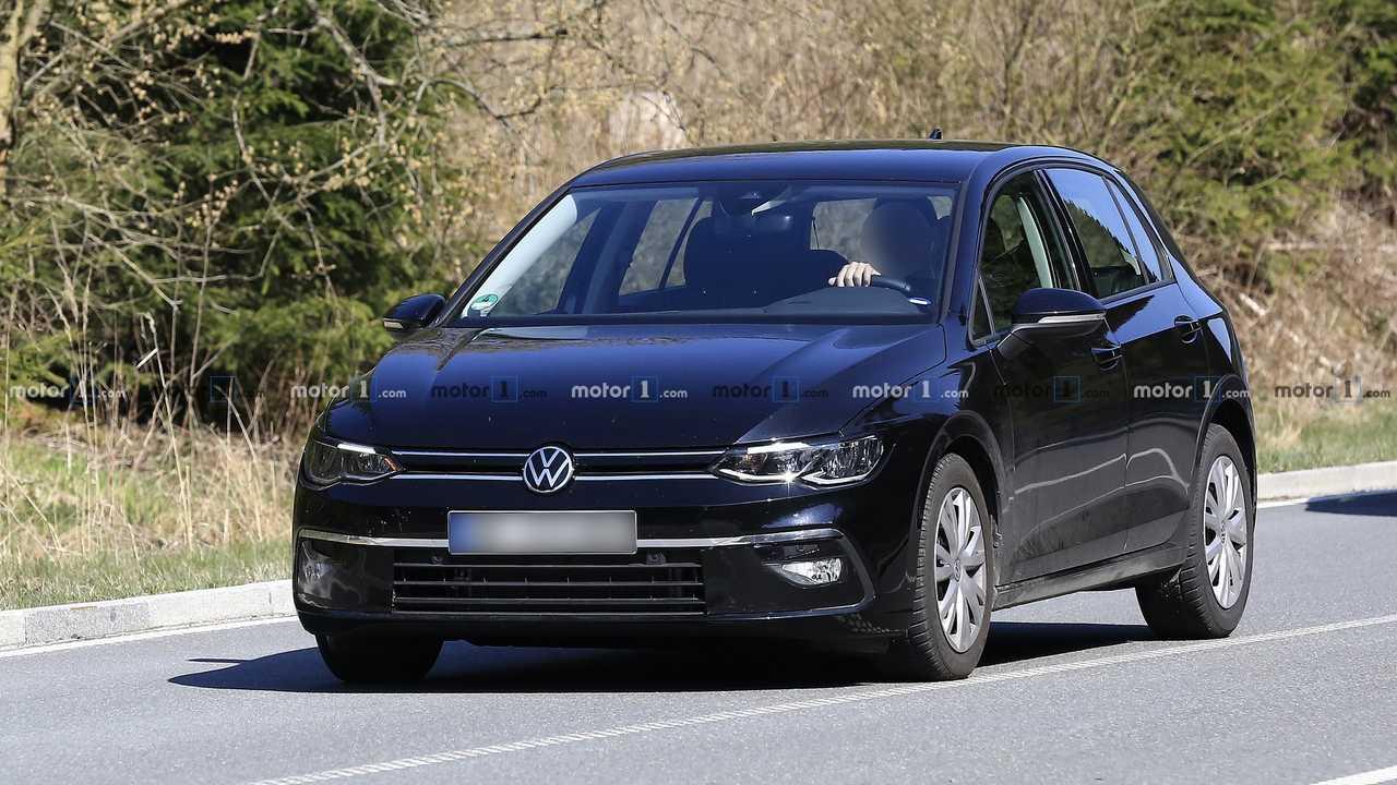 2020 VW Golf Erlkönig