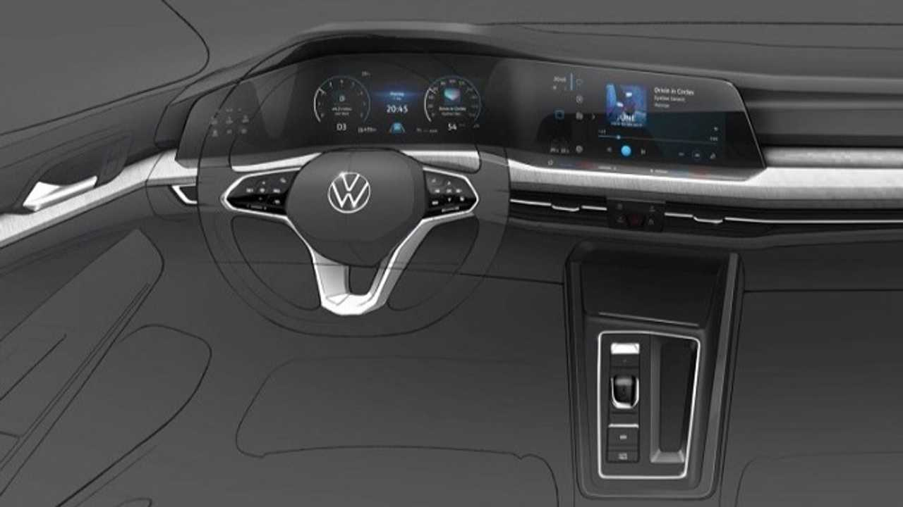 2020 VW Golf teaser