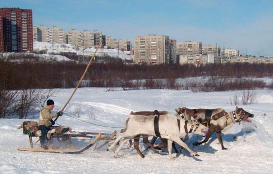 Переселение людей с Крайнего Севера