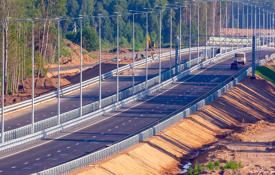 Платная трасса М-11 Москва — Санкт-Петербург — строительство завершено