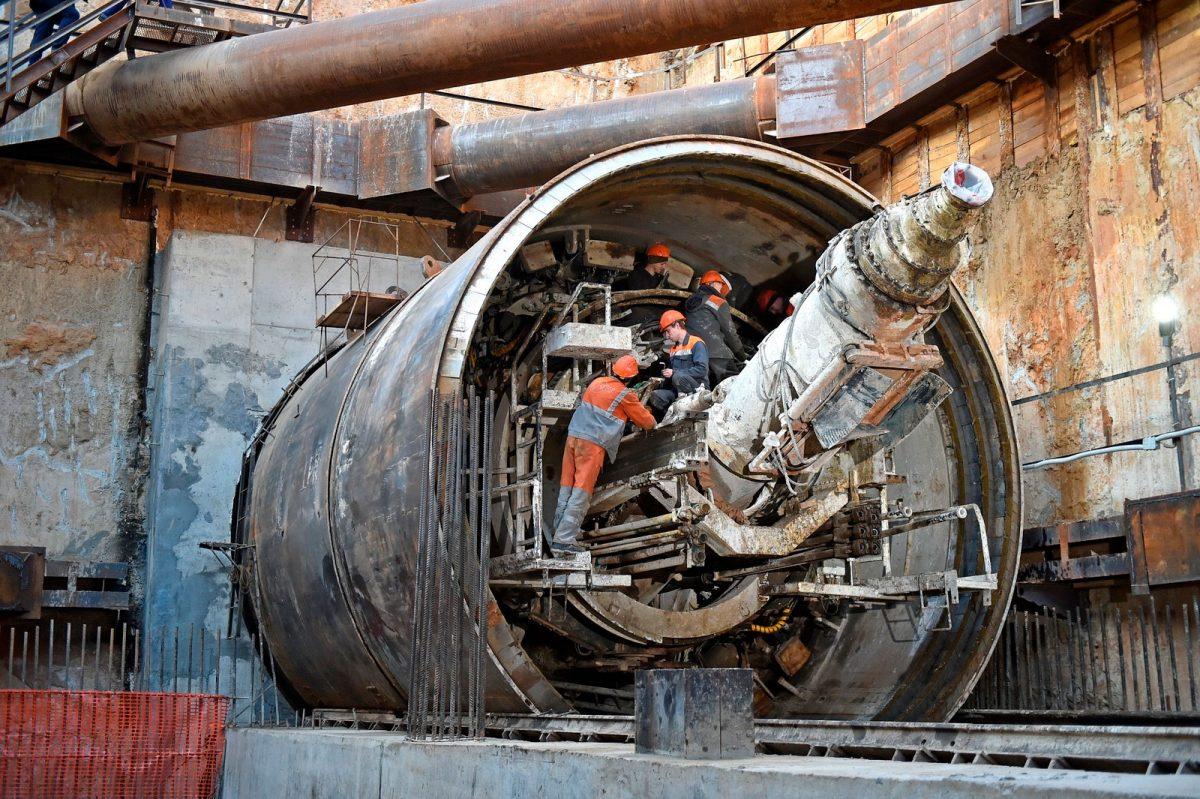 Хуснуллин: тоннелепроходческий щит «Победа» прибыл из Китая в Россию