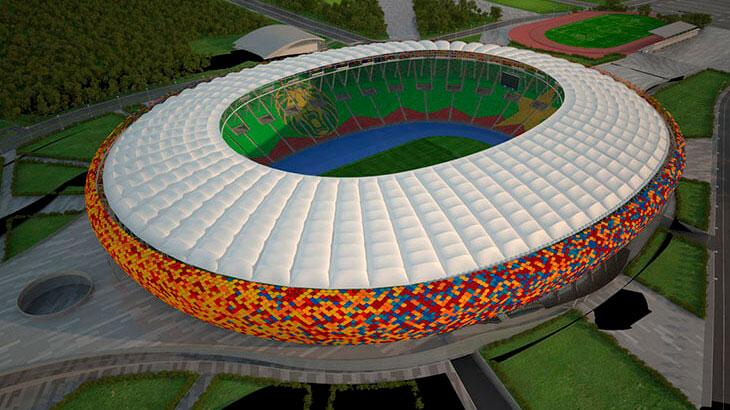 Футбольная арена Олембе Стэдиум (Olembé Stadium)