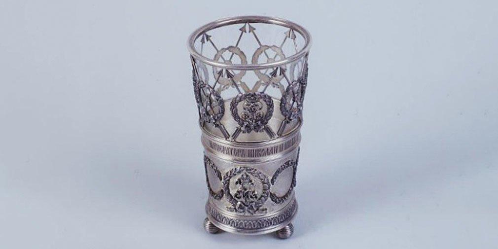 Стакан. Фирма «Фаберже». Санкт-Петербург, 1898 год
