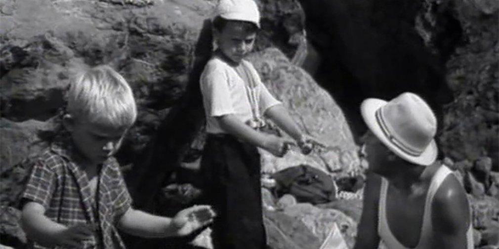 Кадр из фильма «Фантазеры». Режиссер Исаак Магитон. 1965 год