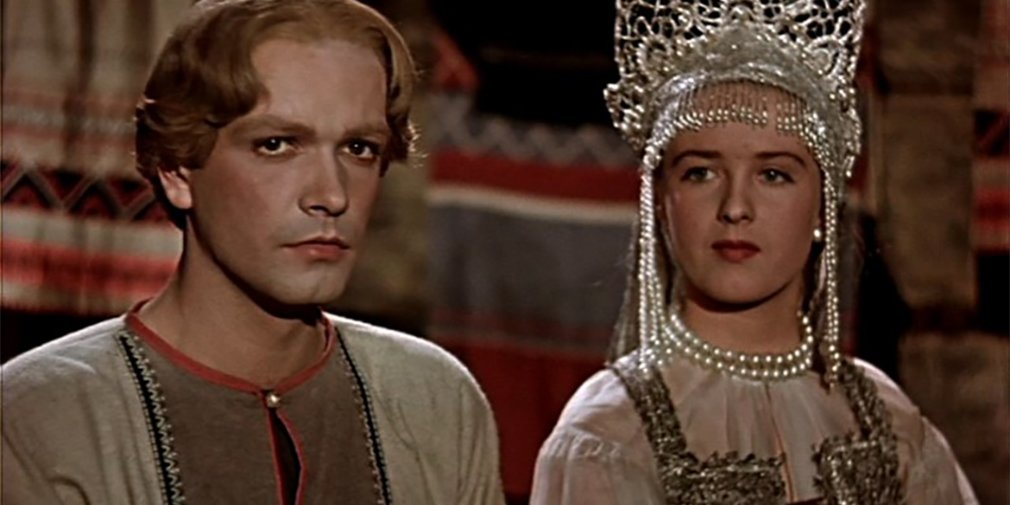 Кадр из фильма «Каменный цветок». Режиссер Александр Птушко. 1946 год