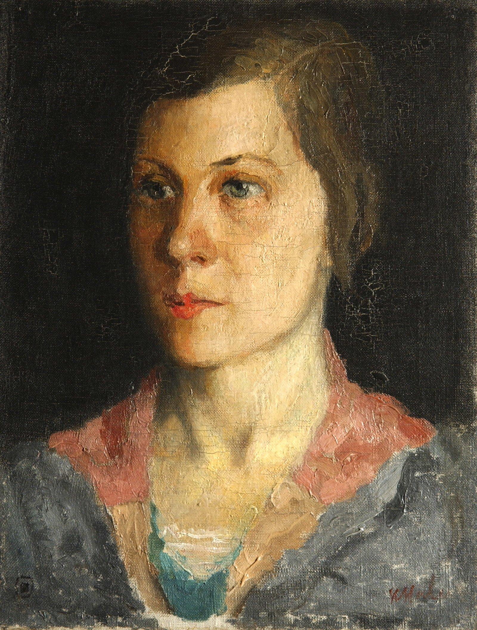 К. Малевич. Портрет Натальи Малевич. 1933 год