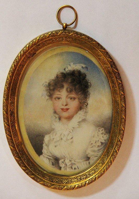 Ж. Беннер. Портрет великой княжны Екатерины Павловны. 1815 год