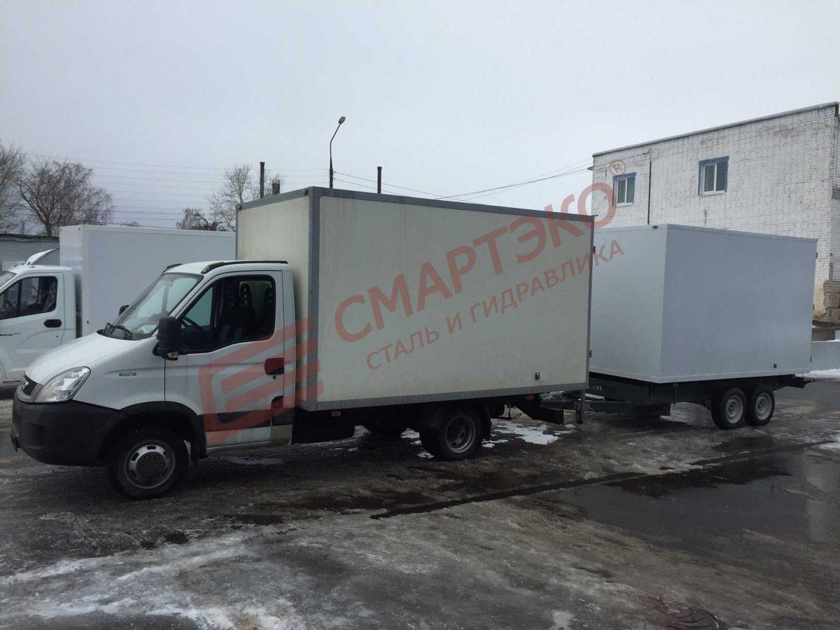 Прицеп-фургон двухосный