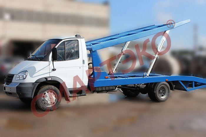 Эвакуатор-автовоз двухуровневый Шасси ГАЗ-33106