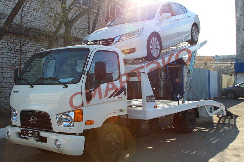 Эвакуатор-автовоз двухуровневый Шасси Hyundai HD-78