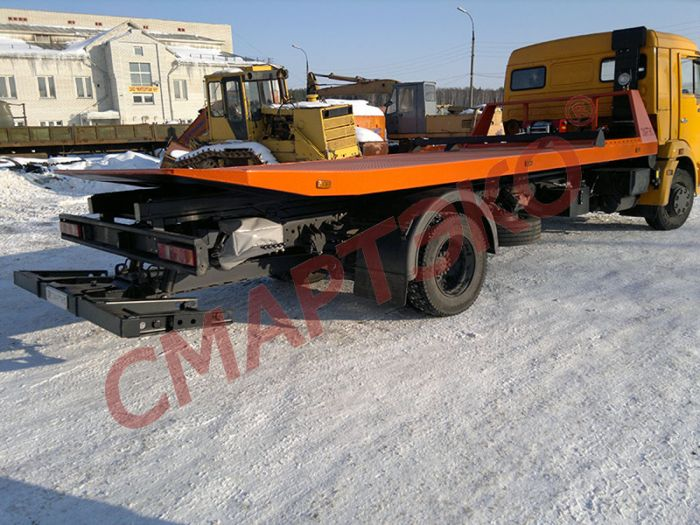 Эвакуатор на шасси КАМАЗ-4308