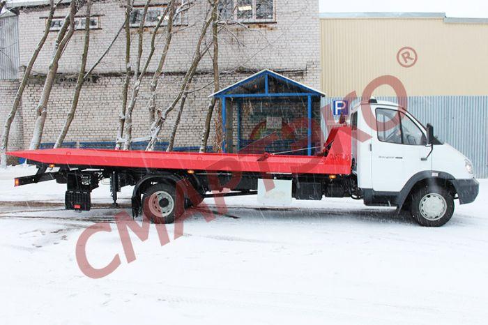 Эвакуатор со сдвижной платформой ГАЗ-33106