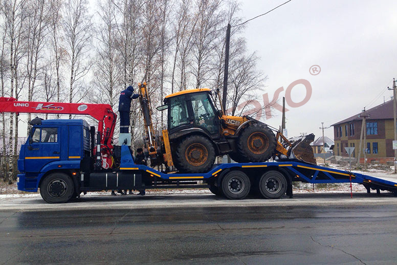 UNIC URV 554 на шасси КАМАЗ 65117