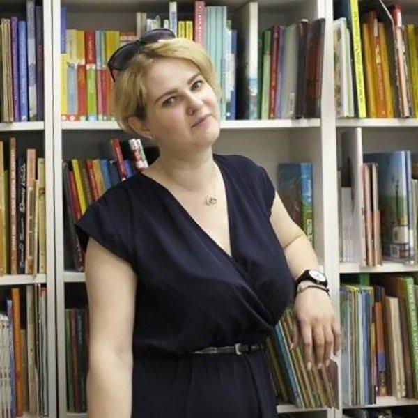 Анна Филатова, заведующая детско-юношеским абонементом в Центральной городской молодежной библиотеке имени М.А. Светлова