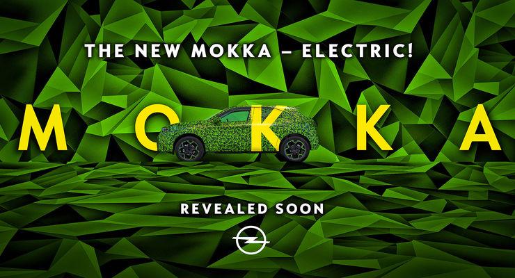 Opel Mokka Elektro Erlkönig