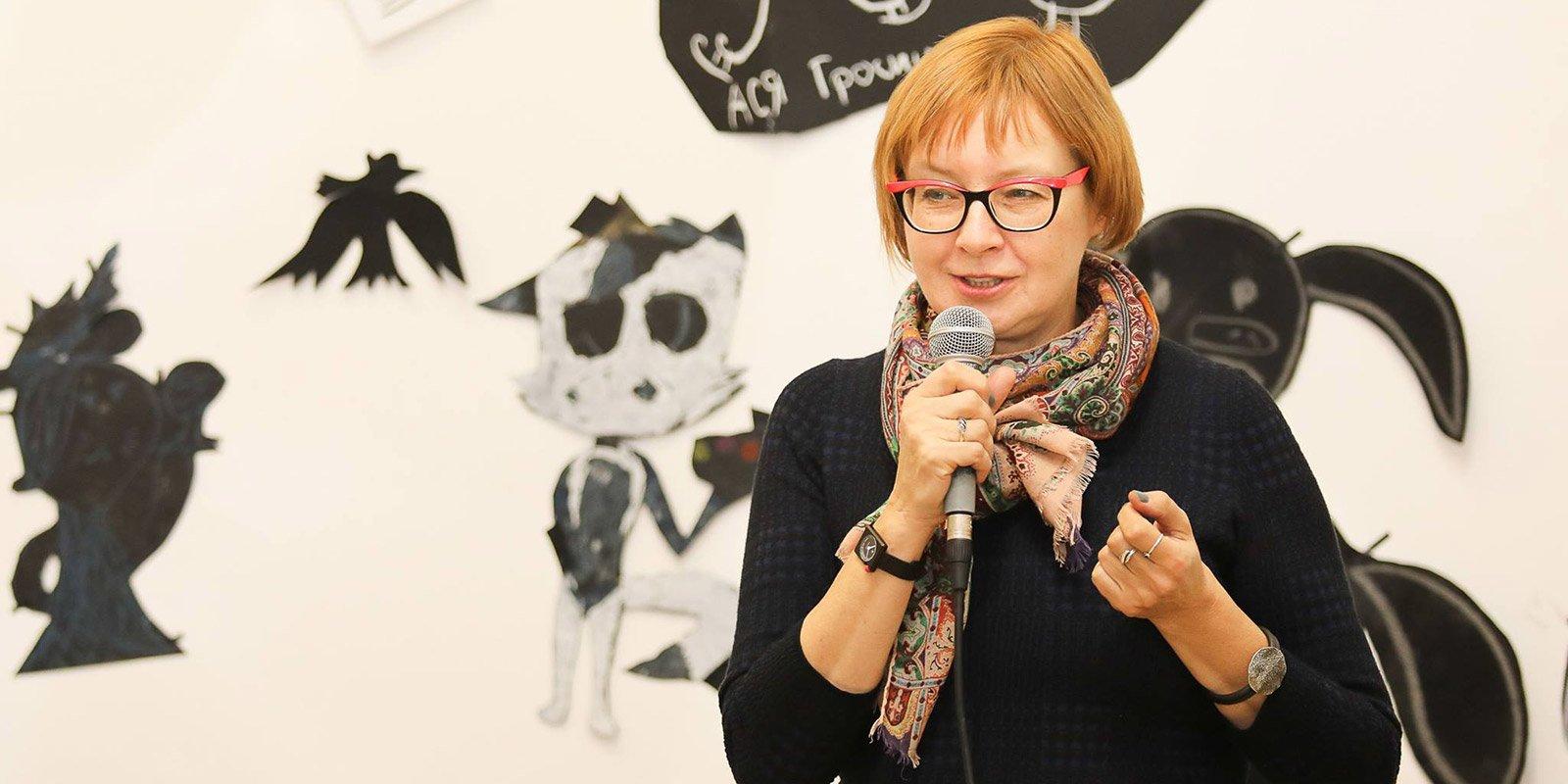 Ольга Мяэотс, заведующая отделом детской книги и детских программ библиотеки иностранной литературы