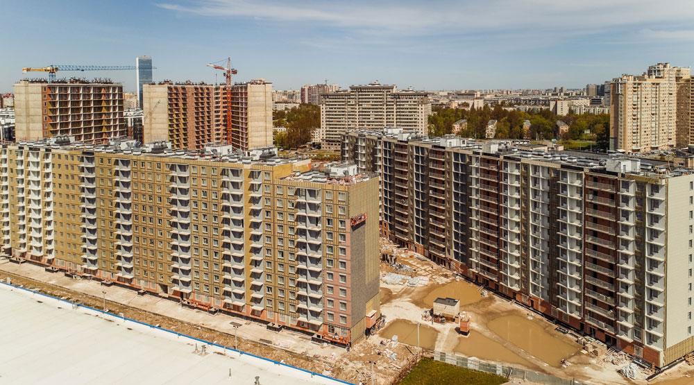 В ЖК «Полис на Московской» началась предчистовая отделка квартир