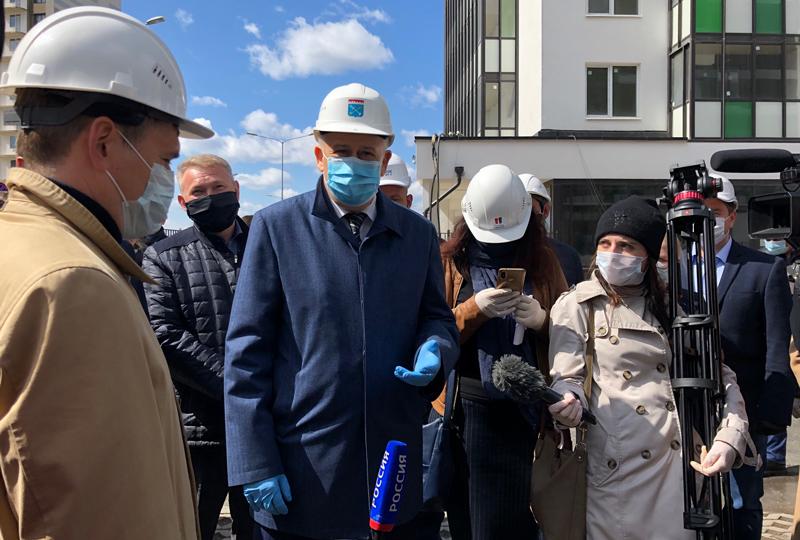 Губернатор Ленинградской области оценил строительство ЖК «ПаркЛэнд»